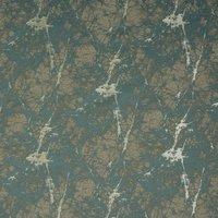Lava Curtain Fabric Duckegg