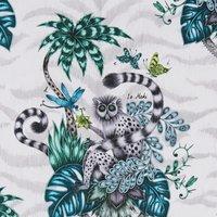 Emma Shipley Lemur Curtain Fabric Jungle