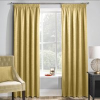 Matrix Ready Made Thermal Blockout Curtains Ochre