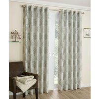 Mulberry Ready Made Eyelet Curtains Sage