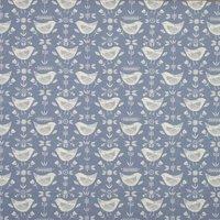 Narvik Curtain Fabric Blue
