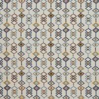 Sante Fe Curtain Fabric Indigo
