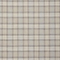 Shaker Check Curtain Fabric Feather