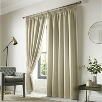 Sherwood Ready Made Blackout Curtains Sand