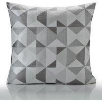 Skandi Cushion Cover 18 x 18 Silver