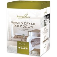 Snuggledown Wash and Dry Me Duck Down 10.5 Tog Duvet