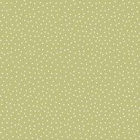 Spotty Curtain Fabric Lemongrass