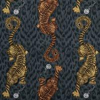 Emma Shipley Tigris Curtain Fabric Flame