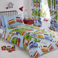 Trains Kids Bedding Set Multi