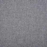 Turin Curtain Fabric Light Grey