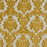 Tuscania Curtain Fabric Ochre
