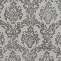 Tuscania Curtain Fabric Silver