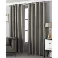 Viceroy Ready Made Eyelet Curtains Taupe
