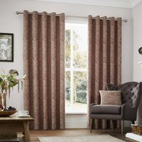 Whitcliffe Luxury Ready Made Lined Eyelet Curtains Multi