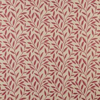 Whitwell Curtain Fabric Carmine