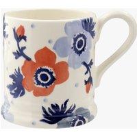 Red & Blue Anemone 1/2 Pint Mug