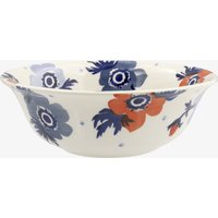 Seconds Red & Blue Anemone Cereal Bowl