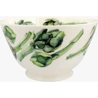 Seconds Vegetable Garden Artichokes Large Old Bowl