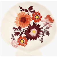 Seconds Bright Dahlias Medium Shell Dish