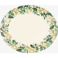 Seconds Bring in the Green Medium Oval Platter