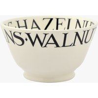 Black Toast Nuts Small Old Bowl