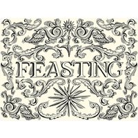 Black Toast Set of 4 Placemats