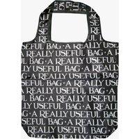 Black Toast Reverse RPET Foldaway Bag