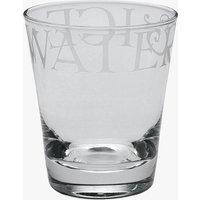 Black Toast Large Glass Tumbler