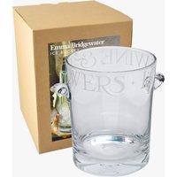 Black Toast Glass Ice Bucket Boxed