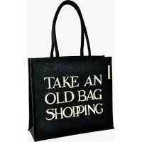 Black Toast Old Bag Jute Bag