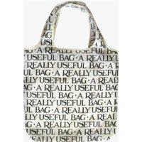 Black Toast RPET Foldaway Bag