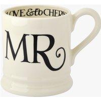 Seconds Black Toast Mr 1/2 Pint Mug