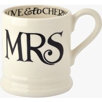Seconds Black Toast Mrs 1/2 Pint Mug