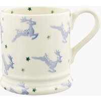 Blue Reindeer 1/2 Pint Mug