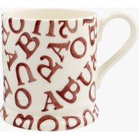 Seconds Barbour All-Over Polka Red 1/2 Pint Mug