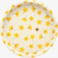 Buttercup Scattered Round Tin Tray