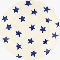 Seconds Blue Star 8 1/2 Plate