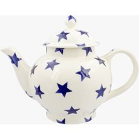 Seconds Blue Star 4 Mug Teapot