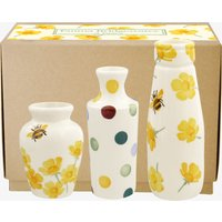 Buttercup Set of 3 Vases Boxed