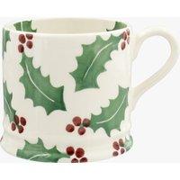 Seconds Christmas Holly Small Mug