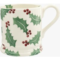 Seconds Christmas Holly 1/2 Pint Mug