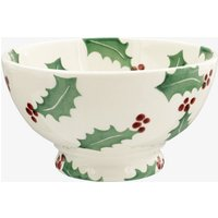 Christmas Holly French Bowl