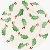 Seconds Christmas Holly 8 1/2 Plate