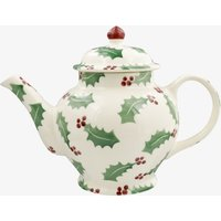 Christmas Holly 3 Mug Teapot