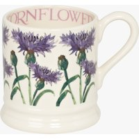 Seconds Flowers Cornflower 1/2 Pint Mug.