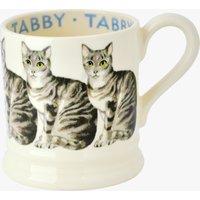 Cats Tabby 1/2 Pint Mug