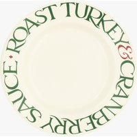 Seconds Christmas Toast  10 1/2  Plate