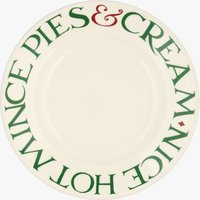 Seconds Christmas Toast 'Mince Pies' 8 1/2 Plate