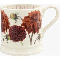 Flowers Dahlia 1/2 Pint Mug