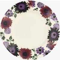 Seconds Dark Dahlia  10 1/2  Plate